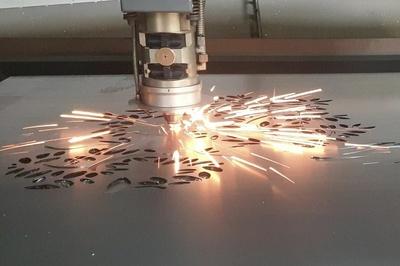 Découpe laser élément de décoration