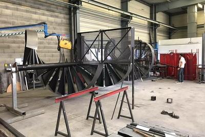 Fabrication escalier : spécialiste métallurgie Arcom - Lannion