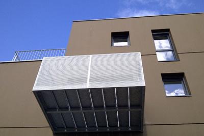 Garde-corps métal pour les balcons : Kastell - Plescop