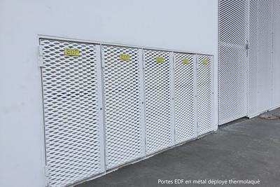Pose de fermetures métalliques à Rennes (35)