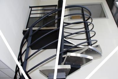 Réalisation d''escaliers et garde-corps