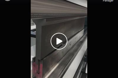 CN TRUMPF : Série de 900 Pièces avec pli écrasé en vidéos