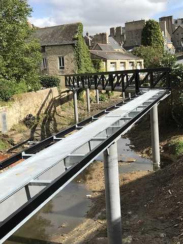 ARCOM : nouvelle passerelle sur le Trieux à Guingamp img0829