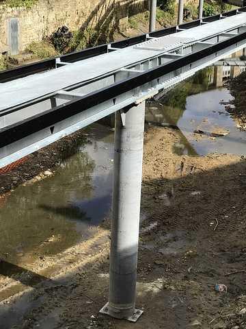 ARCOM : nouvelle passerelle sur le Trieux à Guingamp img0840