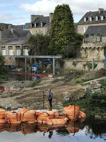 ARCOM : nouvelle passerelle sur le Trieux à Guingamp img0846