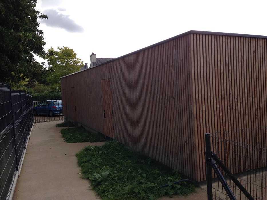 Garde-corps alu avec vitrages en laqué blanc et acier, clôture, auvents, balcons patioriva7