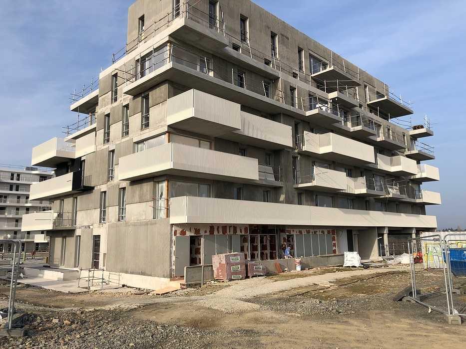 Montage garde-corps - résidence Cesson Sévigné (35) Groupe Launay 0
