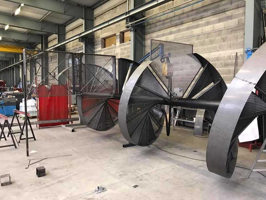 Fabrication escalier : spécialiste métallurgie Arcom - Lannion 119636841102157752188466397304622591073317304n