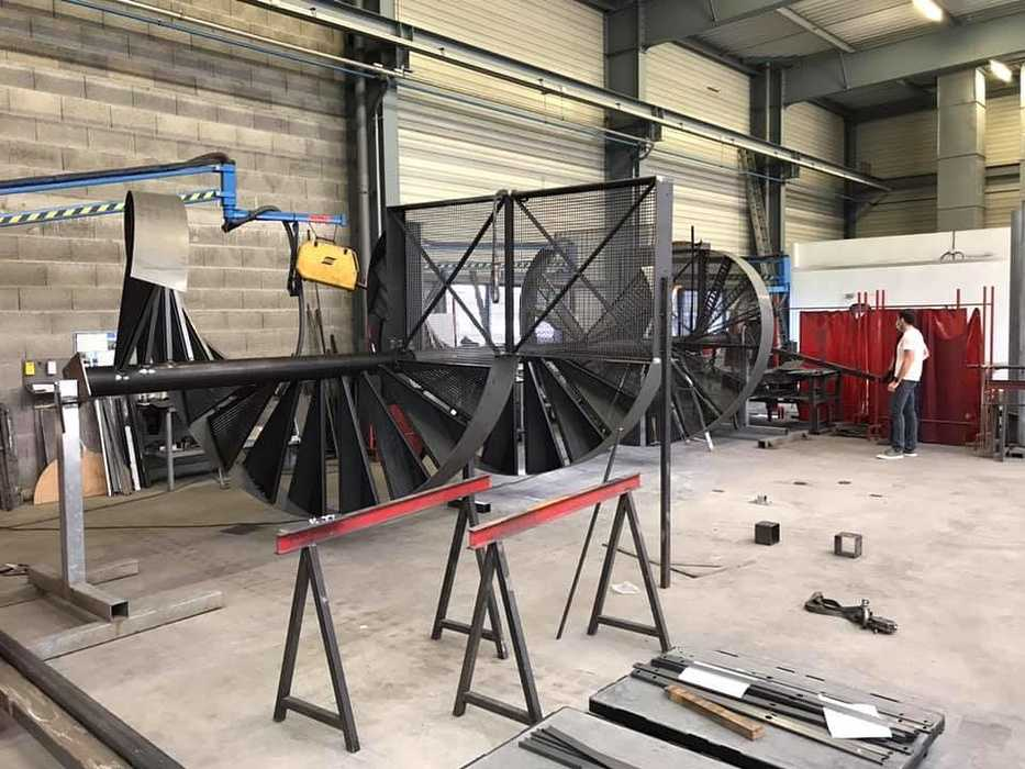 Fabrication escalier : spécialiste métallurgie Arcom - Lannion 0