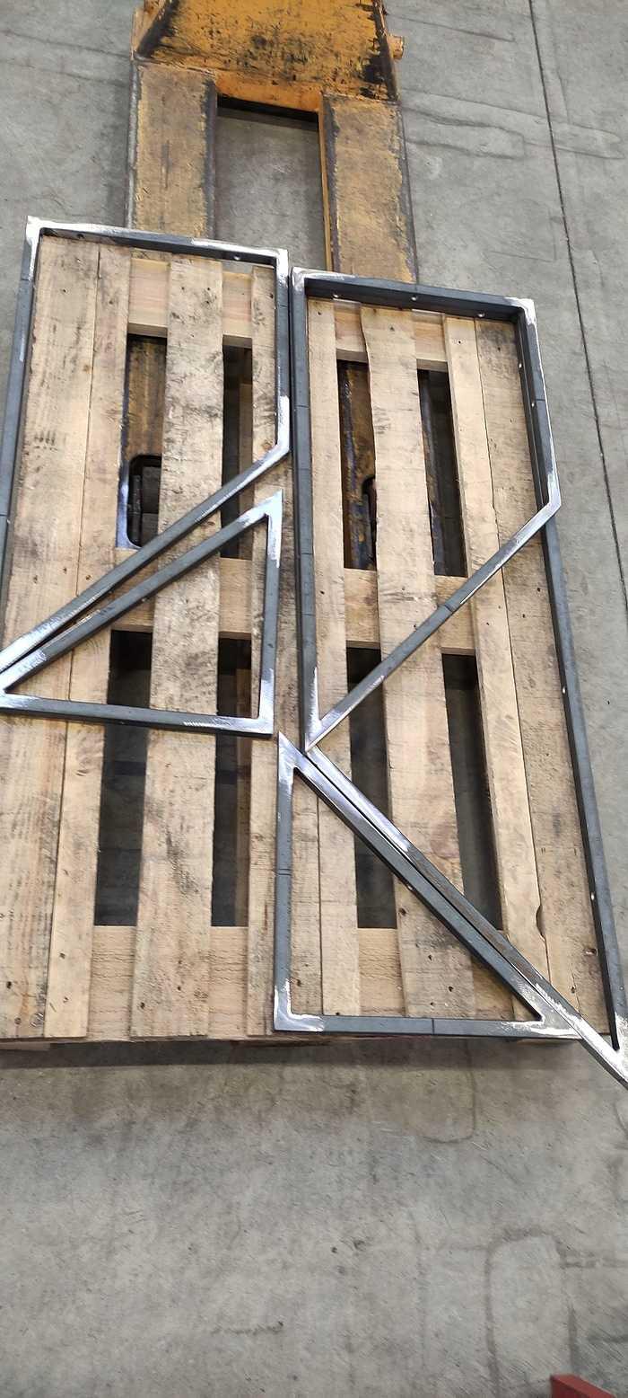 Fabrication cloison vitréetype verrière atelier a4