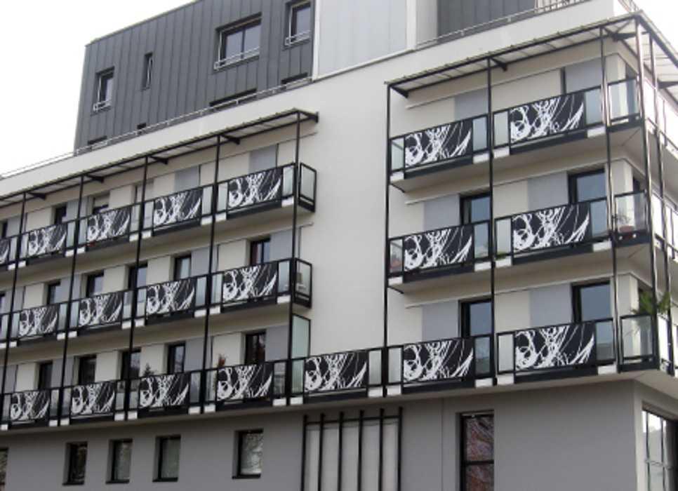 GARDE-CORPS : ZAC du Mail - Rennes 0