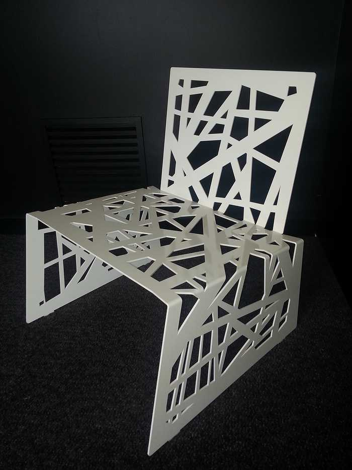 Chaise métal 0