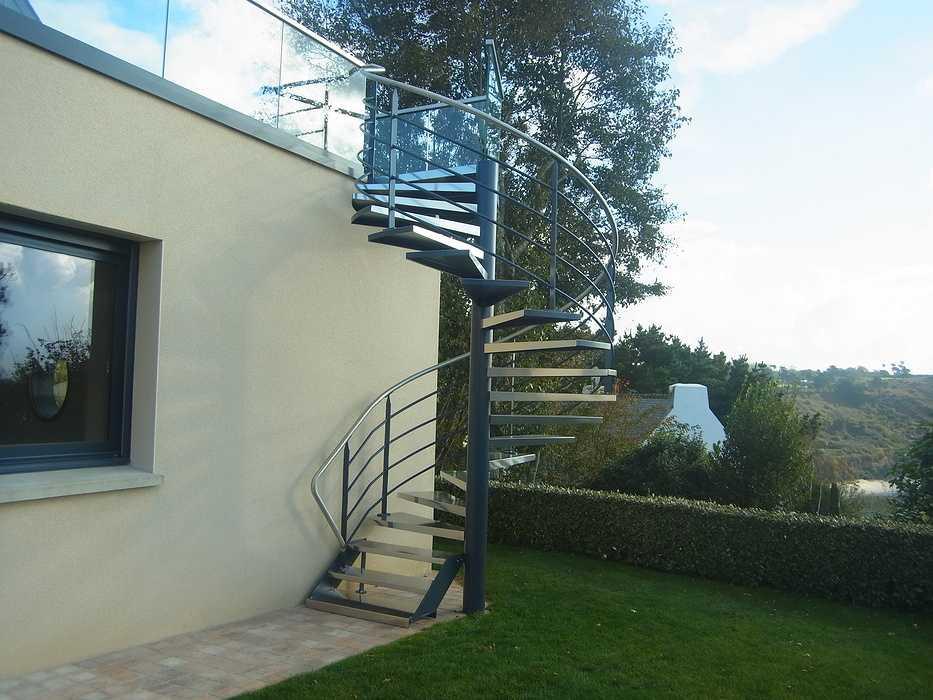 Escalier hélicoïdal escalierhelicoidalface